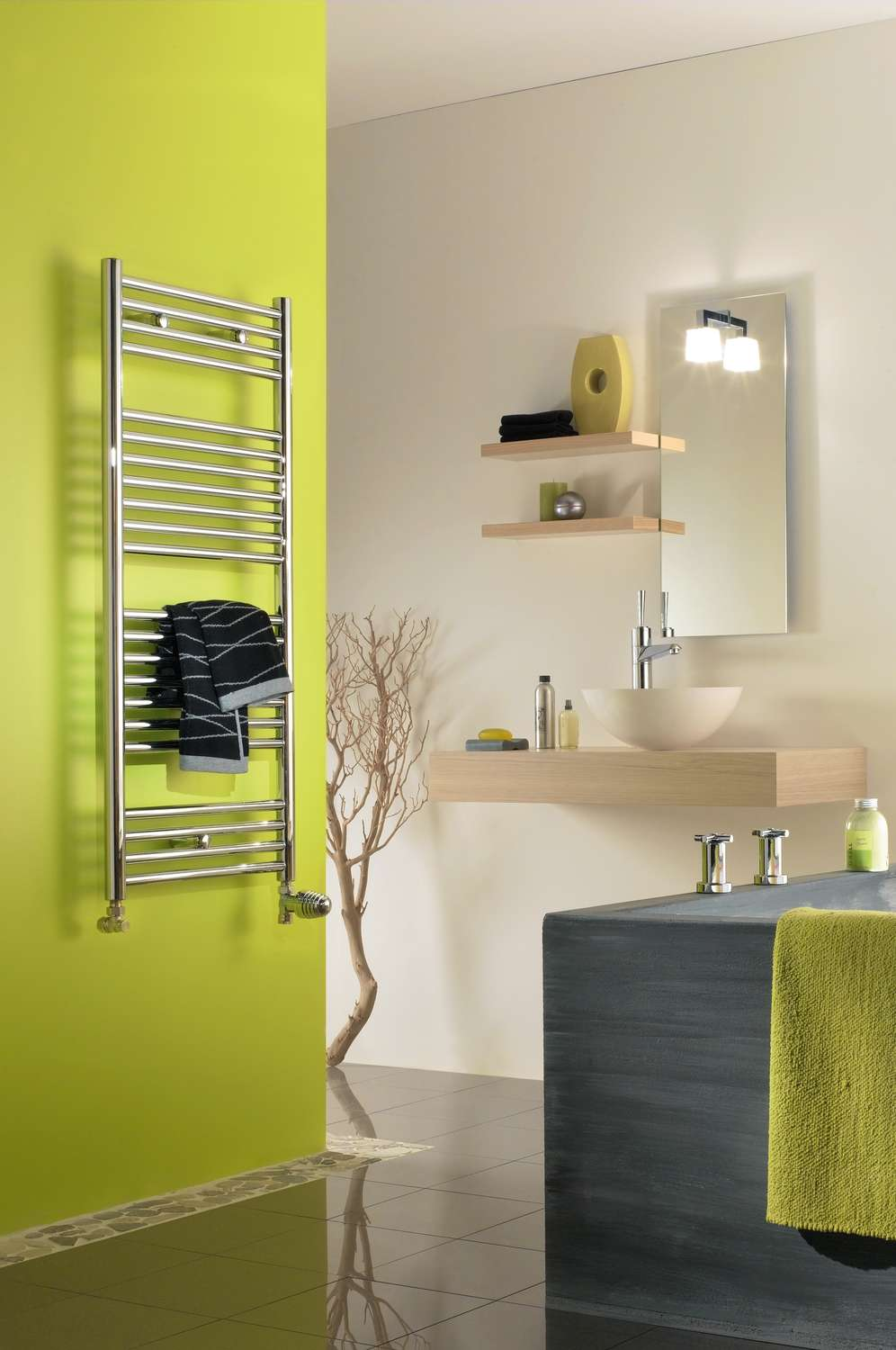 atoll spa chrom chauffage central slo radiateur seche. Black Bedroom Furniture Sets. Home Design Ideas